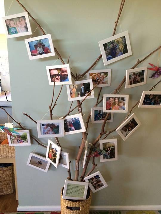 Дерево с фотографиями фото