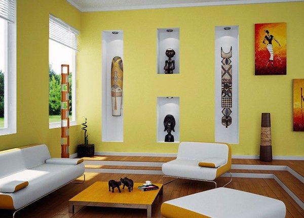 африканские маски для интерьера картинки