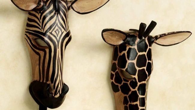 маски зебр