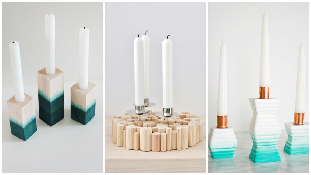 как сделать своими руками поставка дл¤ свечи