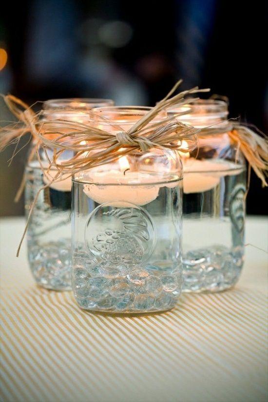 Плавающая свеча фото