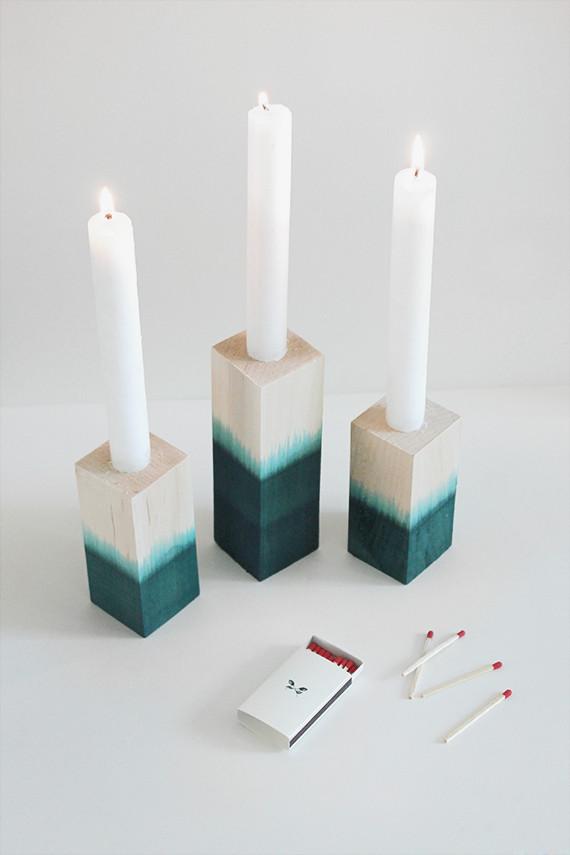 модный Подсвечник для длинных свечей