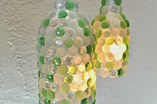 мастер класс светильник из бутылки стеклянной фото