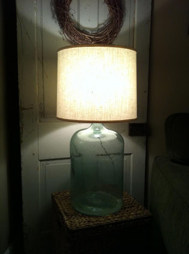 светильников из старой банки