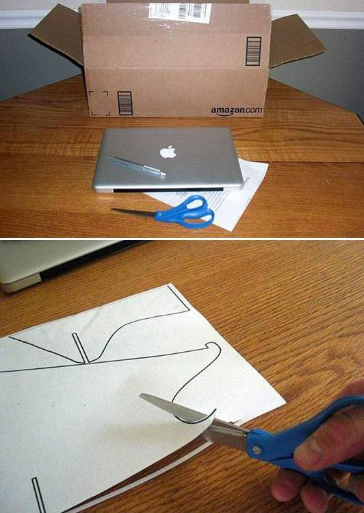 фото сделать Подставка под ноутбук своими руками