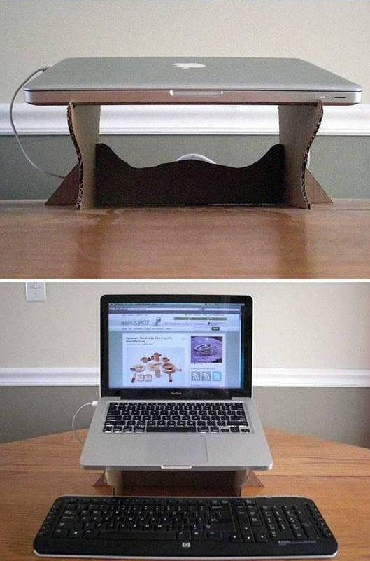 Подставка под ноутбук своими руками