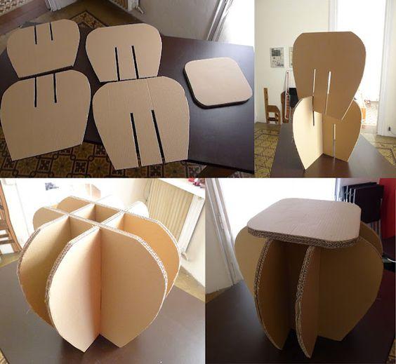 стол из бумаги своими руками