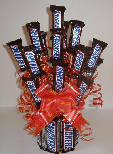 Букеты из шоколадок